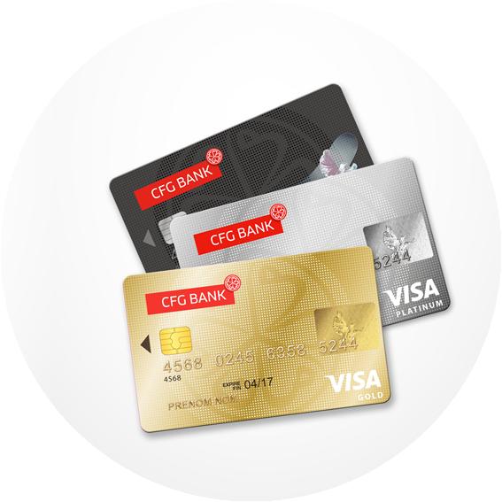 Carte Bancaire Prepayee Maroc.Cfg Bank Les Cartes Bancaires